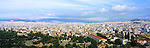Panoramic view over the rooftops in Athens, Greece<br />