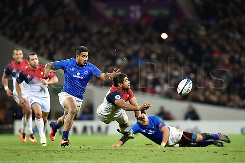 12.11.2016. Stadium Toulouse, Toulouse, France. Autumn International rugby match, France versus Samoa.  Wesley Fofana (fr)