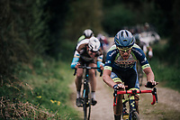 'Look mum, no hands!' by  Wesley Kreder (NED/Wanty - Groupe Gobert)<br /> <br /> 35th Tro Bro Leon 2018<br /> 1 Day Race: Le Carpont - Lannilis (FRA/203km)