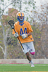 Los Angeles, CA 02-26-17 - Kai  Welsh (UCSB #44) in action during the MCLA conference game between LMU and UC Santa Barbara.  Santa Barbara defeated LMU 15-0.