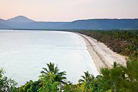 View of Four Mile Beach from Flagstaff Hill.  Port Douglas, Queensland, Australia