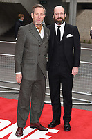 Michael Smiley and Johnny Harris<br /> at the &quot;Jawbone&quot; premiere held at the bfi, South Bank, London. <br /> <br /> <br /> &copy;Ash Knotek  D3263  08/05/2017