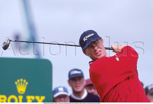 JOAKIM HEAGGMAN (SWE), The Open Championship, Royal Birkdale 980718 Photo:Chris Brown/Action Plus...1998.Golf.golfer golfers