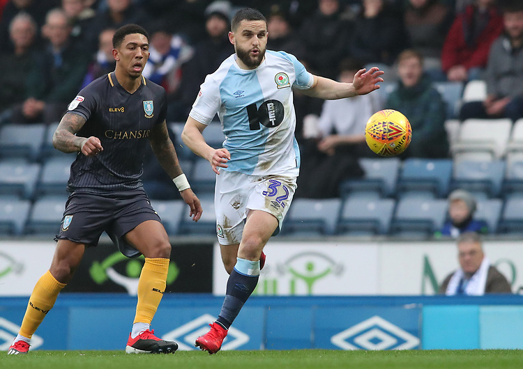 Blackburn Rovers' Craig Conway<br /> <br /> Photographer Rachel Holborn/CameraSport<br /> <br /> The EFL Sky Bet Championship - Blackburn Rovers v Sheffield Wednesday - Saturday 1st December 2018 - Ewood Park - Blackburn<br /> <br /> World Copyright &copy; 2018 CameraSport. All rights reserved. 43 Linden Ave. Countesthorpe. Leicester. England. LE8 5PG - Tel: +44 (0) 116 277 4147 - admin@camerasport.com - www.camerasport.com