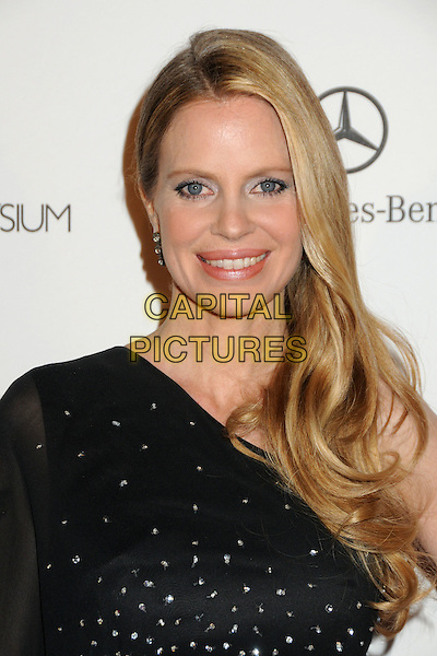 """KRISTIN BAUER .attends the Art of Elysium 4th Annual Charity Gala """"Heaven"""" held at The Annenberg Building at The California Science Center in Los Angeles, California, USA, January 15th 2011..portrait headshot smiling make-up  beauty black one sleeve .CAP/ADM/BP.©Byron Purvis/AdMedia/Capital Pictures."""