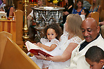 Aaliyah Wilson's Baptism at St. Catherine's Church in North Middletown, NJ