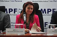Curitiba (PR), 10/03/202 - Maria Iraneide Olinda Santoro Facchini - Coordenadora Subprocuradora-Geral da Republica. O Mnisterio Publico Federal (MPF) realiza coletiva de imprensa para mostrar o resultado apos seis anos da forca-tarefa da Lava Jato nesta terca-feira(10) em Curitiba. (Foto: Ernani Ogata/Codigo 19/Codigo 19)