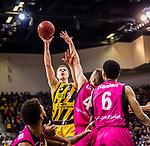 Donatas SABECKIS (#3 MHP Riesen Ludwigsburg) \ beim Spiel in der Basketball Bundesliga, MHP Riesen Ludwigsburg - Telekom Baskets Bonn.<br /> <br /> Foto &copy; PIX-Sportfotos *** Foto ist honorarpflichtig! *** Auf Anfrage in hoeherer Qualitaet/Aufloesung. Belegexemplar erbeten. Veroeffentlichung ausschliesslich fuer journalistisch-publizistische Zwecke. For editorial use only.