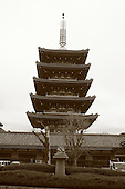 Mar 6, 2006; Tokyo, JPN; Asakusa.Gojuno-to (five storied pagoda) next to the Senso-ji temple...Photo credit:  Darrell Miho
