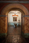 Interior, Mission San Juan Baptista, Calif.