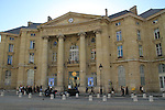 The University of Paris across the street from the Pantheon, Paris, France.