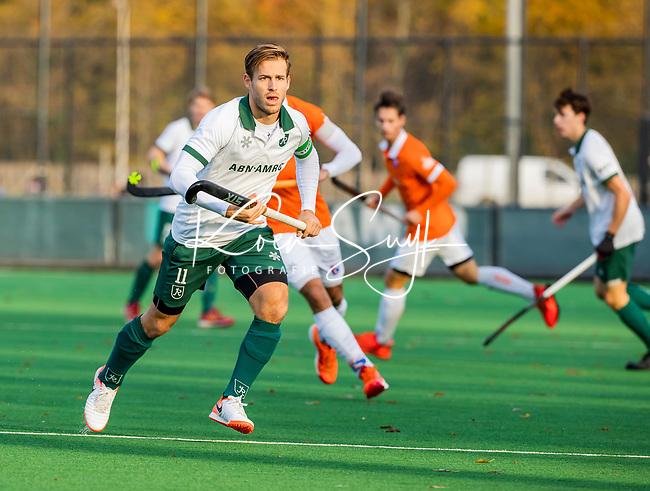 BLOEMENDAAL -Jeroen Hertzberger (Rdam) tijdens de hoofdklasse competitiewedstrijd  heren , Bloemendaal-Rotterdam (1-1) .COPYRIGHT KOEN SUYK