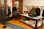 Tailor's Giovanni Mura in his workshop on 29/11/2014 in Trento, Italy.