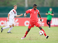 Omar Browne. Canada played Panama during the CONCACAF Men's Under 17 Championship at Catherine Hall Stadium in Montego Bay, Jamaica.