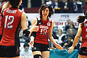 Risa Shinnabe (JPN), November 16,2011 - Volleyball : FIVB Women's World Cup 2011, 4th Round match between Japan 3-0 Kenya at Yoyogi 1st Gymnasium, Tokyo, Japan. (Photo by Daiju Kitamura/AFLO SPORT) [1045]