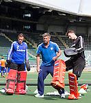 2014 Goalies Pirmin en Jaap trainen