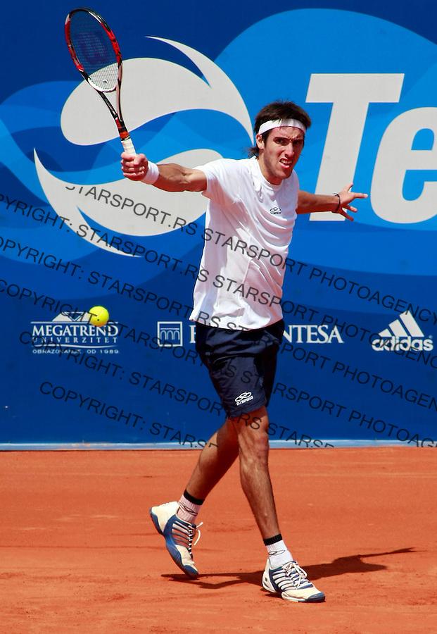 Tenis.ATP Serbia Open 2009.Andreas Seppi Vs.Leonardo Mayer, second round.Leonardo Mayer.Beograd, 05.07.2009..foto: Srdjan Stevanovic/Starsportphoto.com ©