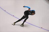 SCHAATSEN: CALGARY: Olympic Oval, 09-11-2013, Essent ISU World Cup, 1000m, Shani Davis (USA), ©foto Martin de Jong