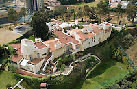 A private house in Interlomas, a very wealthy part of Mexico City, Aerial shots of Mexico City