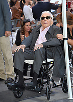 LOS ANGELES, CA. November 06, 2018: Kirk Douglas at the Hollywood Walk of Fame Star Ceremony honoring actor Michael Douglas.<br /> Pictures: Paul Smith/Featureflash