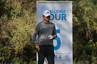 Cormac Sharvin (NIR) on the 5th tee during Round 3 of the Challenge Tour Grand Final 2019 at Club de Golf Alcanada, Port d'Alcúdia, Mallorca, Spain on Saturday 9th November 2019.<br /> Picture:  Thos Caffrey / Golffile<br /> <br /> All photo usage must carry mandatory copyright credit (© Golffile | Thos Caffrey)