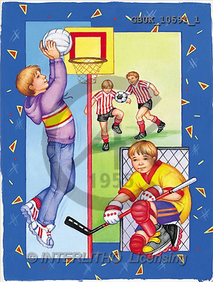 Stephen, MASCULIN, paintings, boys, basketball(GBUK10591/1,#M#) Männer, masculino, illustrations, pinturas , hombres ,everyday