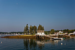 McFarland Island,  Boothbay Harbor,Maine, USA