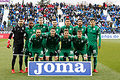 7th January 2018, Estadio Municipal de Butarque, Legales, Spain; La Liga football, Leganes versus Real Sociedad; Leganes FC Team Group Line-up