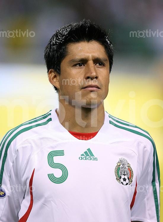 Fussball International Gold Cup Halbfinale  Guadeloupe 0-1 Mexico Ricardo Osorio (MEX)