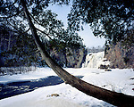 High Falls of the Baptism River, Tettegouche State Park, Minnesota, March, 1987