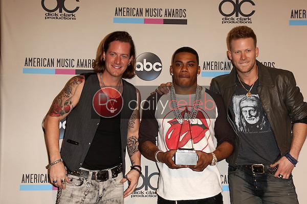 Florida Georgia Line, Nelly<br /> at The 2013 American Music Awards - Press Room , Nokia Theater, Los Angeles, CA 11-24-13<br /> David Edwards/Dailyceleb.com 818-249-4998