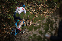 Anna Flynn (GBR/Edinburgh Road Club) <br /> <br /> women's race.<br /> Koppenbergcross Belgium 2018