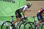Igor Anton (ESP) Team Dimension Data on the final climb at the end of Stage 20 of the La Vuelta 2018, running 97.3km from Andorra Escaldes-Engordany to Coll de la Gallina, Spain. 15th September 2018.                   <br /> Picture: Colin Flockton | Cyclefile<br /> <br /> <br /> All photos usage must carry mandatory copyright credit (© Cyclefile | Colin Flockton)