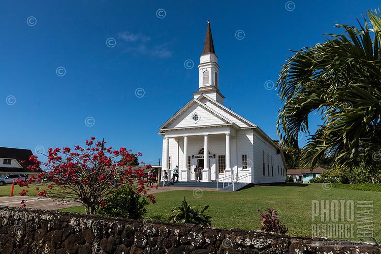 Old Koloa Church on Kaua'i.