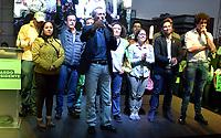 BOGOTA - COLOMBIA, 27-05-2018:Equipo de campaña presidencia de Sergio Fajardol. Las elecciones presidenciales de Colombia de 2018 se celebrarán el domingo 27 de mayo de 2018. El candidato ganador gobernará por un periodo máximo de 4 años fijado entre el 7 de agosto de 2018 y el 7 de agosto de 2022. /Election campaign team of Sergio Fajardo. Colombia's 2018 presidential election will be held on Sunday, May 27, 2018. The winning candidate will govern for a maximum period of 4 years fixed between August 7, 2018 and August 7, 2022. Photo: VizzorImage / Nicolas Aleman / Cont