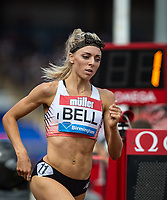 Alexandra BELL of GBR in the women's 800m during the Muller Grand Prix Birmingham Athletics at Alexandra Stadium, Birmingham, England on 20 August 2017. Photo by Andy Rowland.