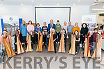 National Harp Day celebration in the Killarney Library last Saturday. Harp Recital by Deirdre Granville and Killarney Harp Club, Tim O'Carroll demonstration on construction of harp and cllr Michael Gleeson giving a talk on history of harp.