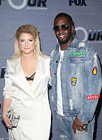 WEST HOLLYWOOD, CA - FEBRUARY 8: Meghan Trainor, Sean Combs, Diddy, at The FOX season finale viewing party for The Four: Battle For Stardom at Delilah in West Hollywood, California on February 8, 2018. Credit: Faye Sadou/MediaPunch