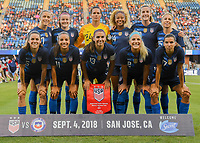 USWNT vs Chile, September 04, 2018