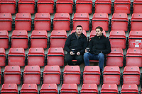 Fans await kick-off during Leyton Orient vs Maldon & Tiptree, Emirates FA Cup Football at The Breyer Group Stadium on 10th November 2019