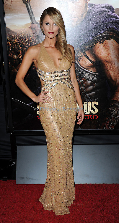 "Ellen Hollman at the LA Premiere of ""Spartagus War Of The Damned"" held at Regal Cinemas L.A. LIVE January 22, 2013"