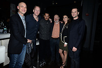 NEW YORK CITY - MARCH 15: Joel Fields, Noah Emmerich, Brandon J. Dirden, Joe Weisberg, Kerri Russell and Mathew Rhys attend FX Networks 2018 Annual All-Star Bowling Party at Lucky Strike Manhattan on March 15, 2018 in New York City. (Photo by Anthony Behar/FX/PictureGroup)