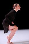 LA CONSTELLATION CONSTERNEE..L ETOILE JAUNE....Choregraphie : LEBRUN Thomas..Compagnie : Compagnie Illico..Lumiere : SERRE Jean Marc..Costume : GUELLAFF Jeanne..Avec :..LANCELIN Anne Sophie....Lieu : Centre National de la danse..Cadre : Moisson d'hiver..Ville : Pantin..Le : 19 01 2010..© Laurent PAILLIER / photosdedanse.com..All rights reserved