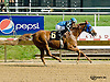 A Ladys Man winning at Delaware Park on 8/20/14
