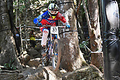 7th September 2017, Smithfield Forest, Cairns, Australia; UCI Mountain Bike World Championships; Jack Reading (GBR) from ONE VISION GLOBAL RACING during downhill practice
