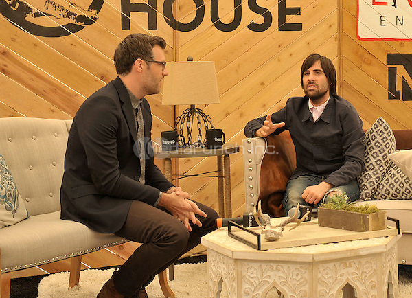AUSTIN, TX - MARCH 15: Jason Schwartzman at AOL's BUILD Speaker Series at RocNation LiveNation Raptor House promoting his films, The Overnight and 7 Chinese Brothers during SXSW 2015 at Arlyn Studios in Austin, Texas on March 15, 2015. Credit: Rick Castillo/MediaPunch