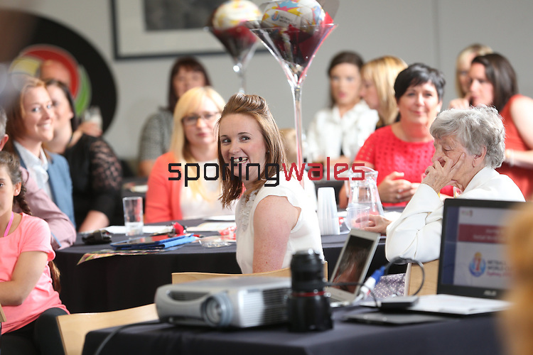 Welsh Netball World Cup Reception<br /> Millennium Stadium<br /> 11.07.15<br /> &copy;Steve Pope - SPORTINGWALES