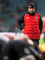 Englands' Head Coach Eddie Jones<br /> <br /> Photographer Bob Bradford/CameraSport<br /> <br /> NatWest Six Nations Championship - England v Wales - Saturday 10th February 2018 - Twickenham Stadium - London<br /> <br /> World Copyright &copy; 2018 CameraSport. All rights reserved. 43 Linden Ave. Countesthorpe. Leicester. England. LE8 5PG - Tel: +44 (0) 116 277 4147 - admin@camerasport.com - www.camerasport.com