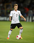 Germany's Max Meyer in action during the UEFA Under 21 Final at the Stadion Cracovia in Krakow. Picture date 30th June 2017. Picture credit should read: David Klein/Sportimage
