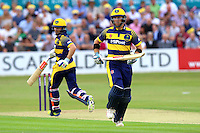 Colin Ingram adds to the Glamorgan total during Essex Eagles vs Glamorgan, NatWest T20 Blast Cricket at the Essex County Ground on 29th July 2016